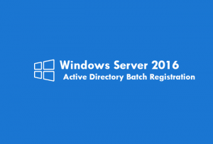 CSVを利用してActive Directoryにユーザーを一括登録するコマンド