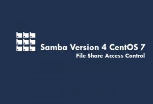 CentOS 7のSambaでファイル共有に基本的なアクセス権を設定、Sambaの基本的な設定を再確認。